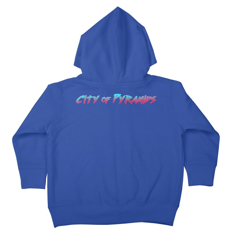 City of Pyramids Kids Toddler Zip-Up Hoody by City of Pyramids's Artist Shop