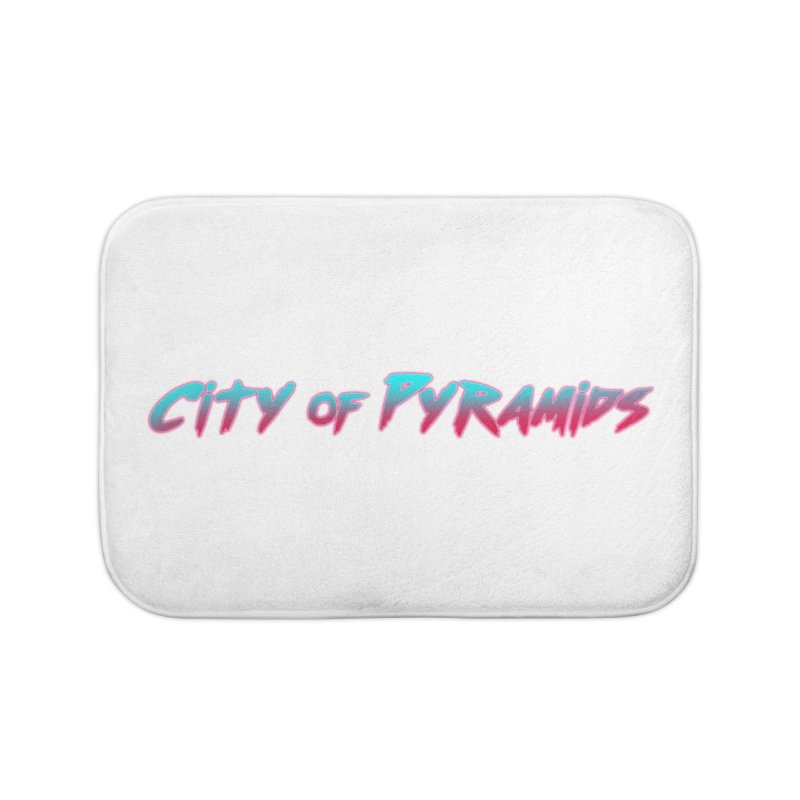 City of Pyramids Home Bath Mat by City of Pyramids's Artist Shop