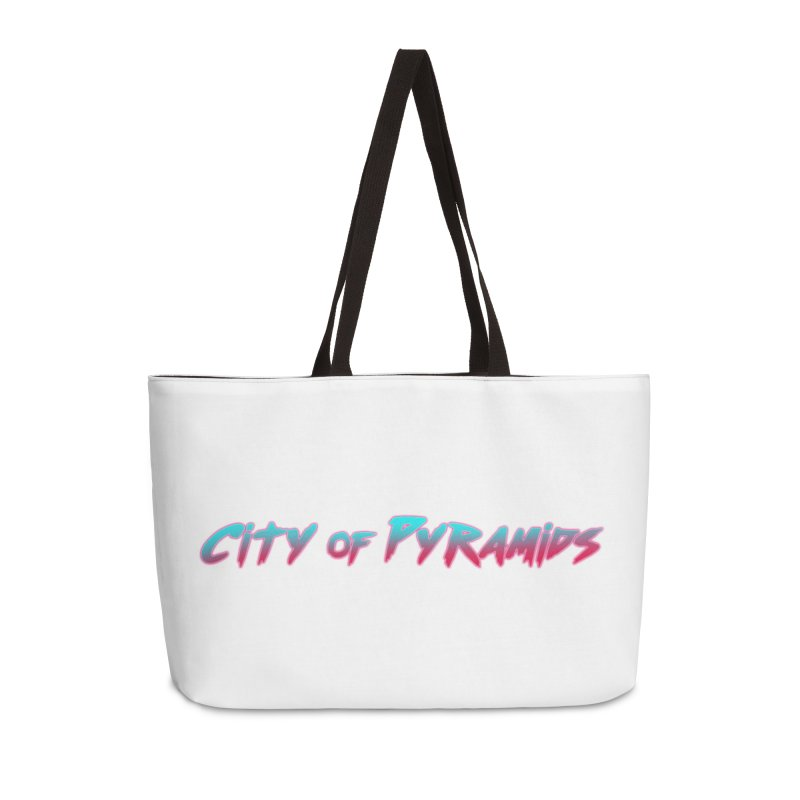 City of Pyramids Accessories Weekender Bag Bag by City of Pyramids's Artist Shop