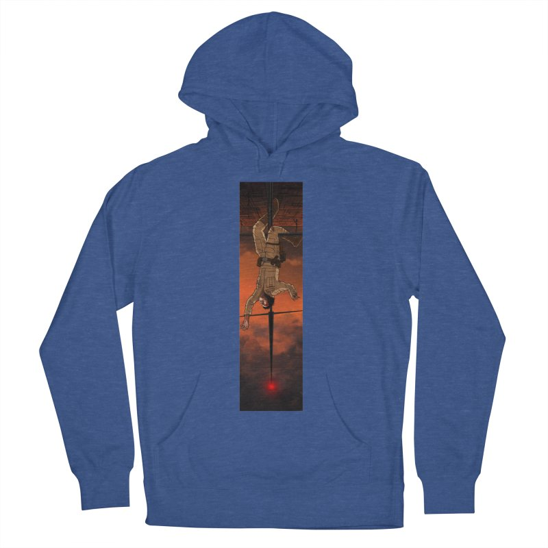 Hang in There-Luke Women's French Terry Pullover Hoody by City of Pyramids's Artist Shop