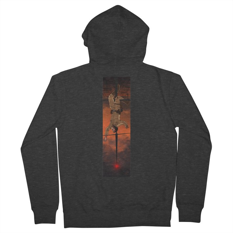 Hang in There-Luke Women's French Terry Zip-Up Hoody by City of Pyramids's Artist Shop