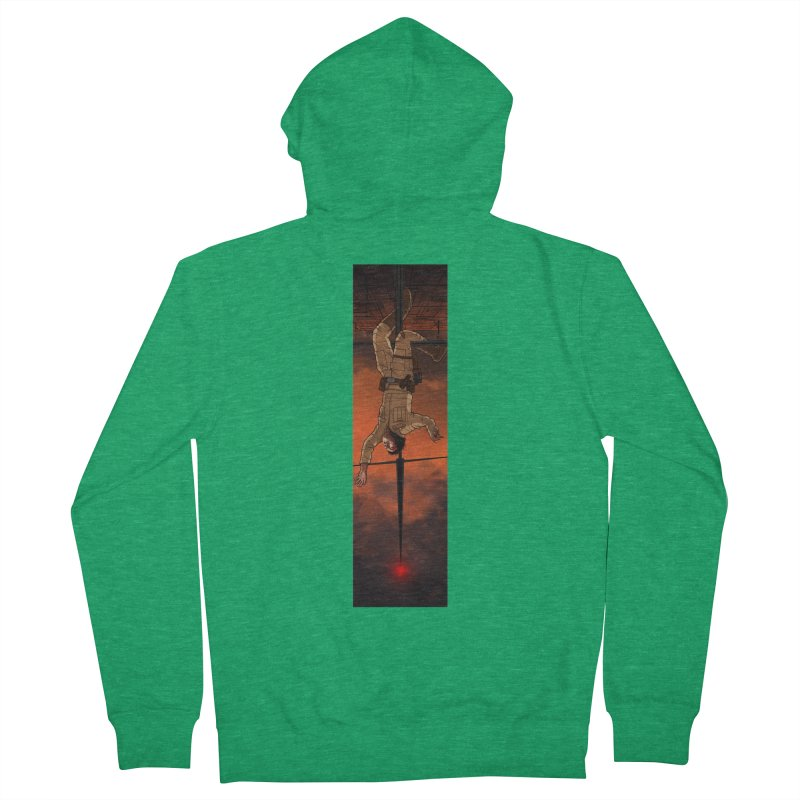 Hang in There-Luke Men's Zip-Up Hoody by City of Pyramids's Artist Shop
