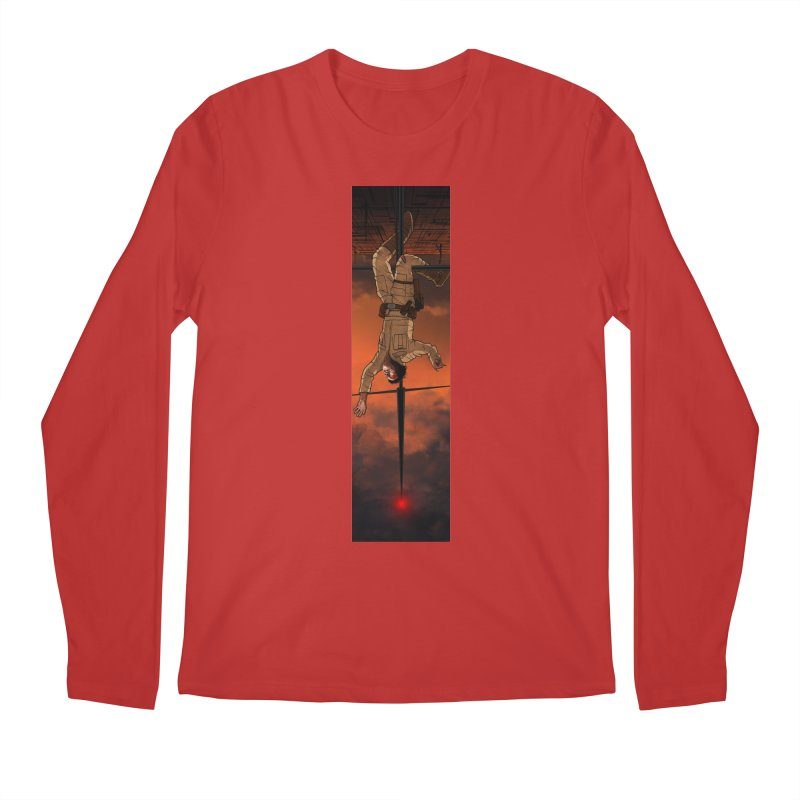Hang in There-Luke Men's Regular Longsleeve T-Shirt by City of Pyramids's Artist Shop