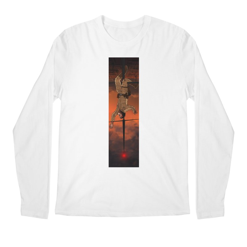 Hang in There-Luke Men's Regular Longsleeve T-Shirt by City of Pyramids's Artist Shop