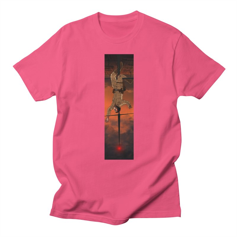 Hang in There-Luke Men's Regular T-Shirt by City of Pyramids's Artist Shop