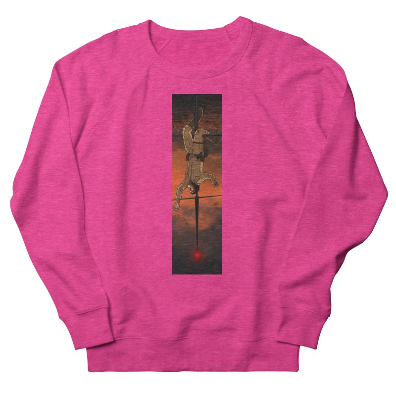 Hang in There-Luke Men's French Terry Sweatshirt by City of Pyramids's Artist Shop