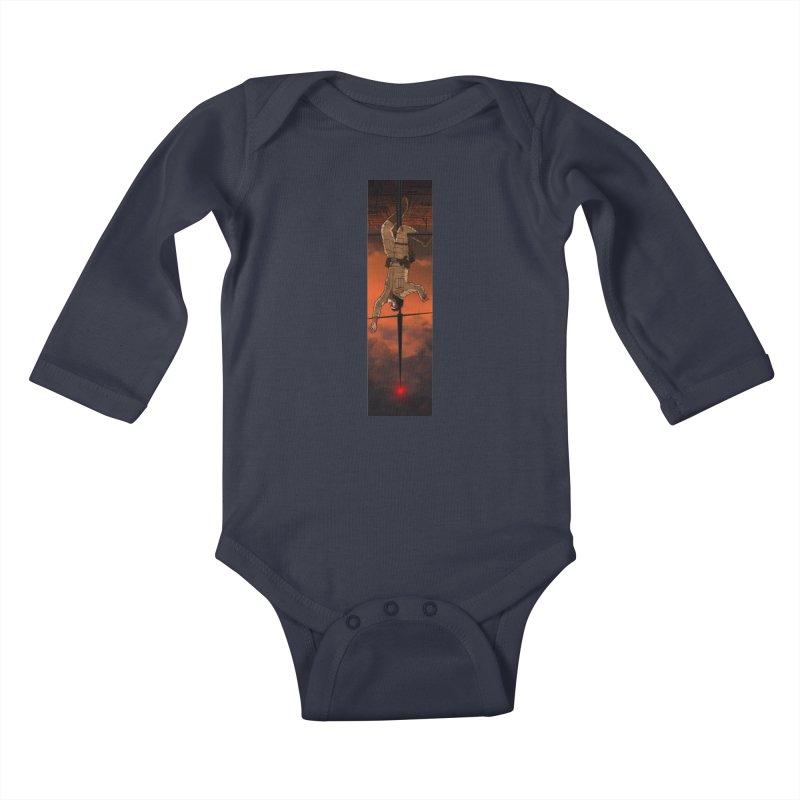 Hang in There-Luke Kids Baby Longsleeve Bodysuit by City of Pyramids's Artist Shop