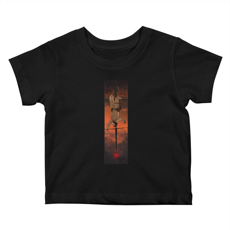 Hang in There-Luke Kids Baby T-Shirt by City of Pyramids's Artist Shop