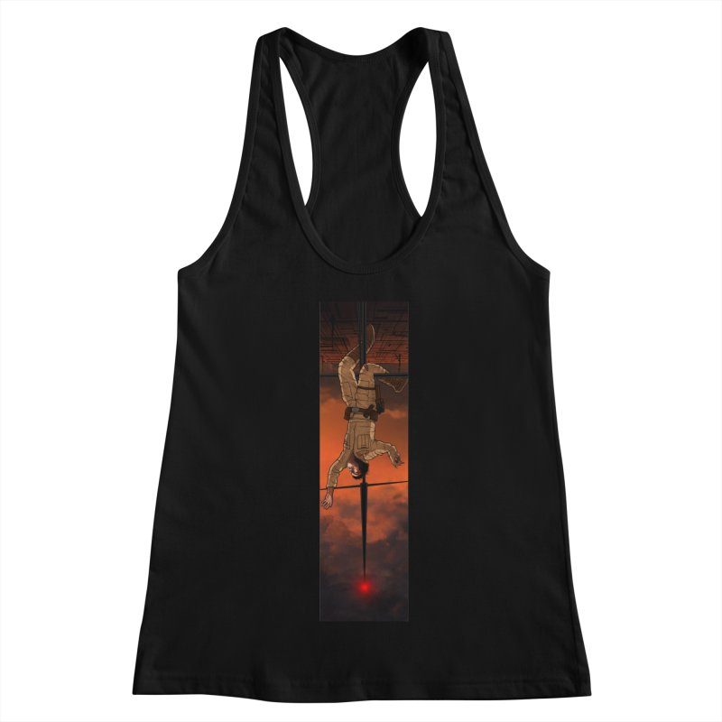 Hang in There-Luke Women's Racerback Tank by City of Pyramids's Artist Shop