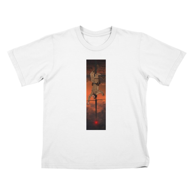 Hang in There-Luke Kids T-Shirt by City of Pyramids's Artist Shop