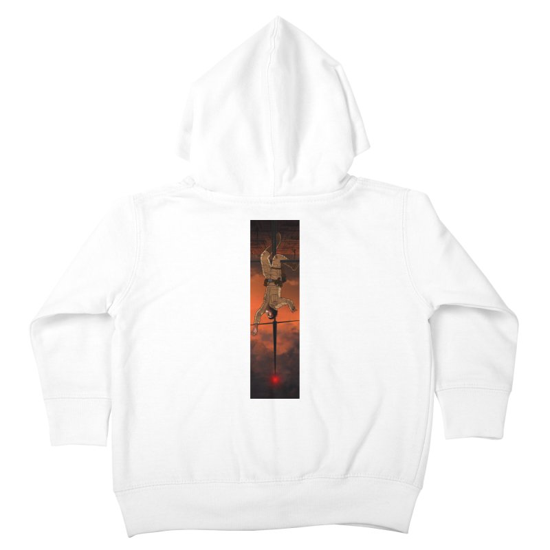 Hang in There-Luke Kids Toddler Zip-Up Hoody by City of Pyramids's Artist Shop