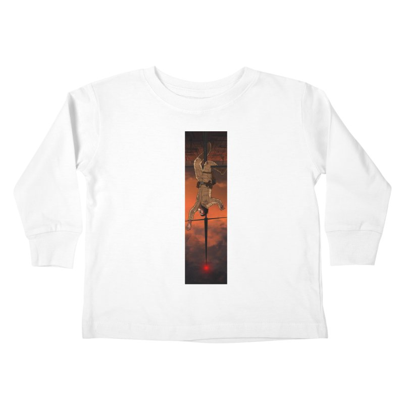 Hang in There-Luke Kids Toddler Longsleeve T-Shirt by City of Pyramids's Artist Shop
