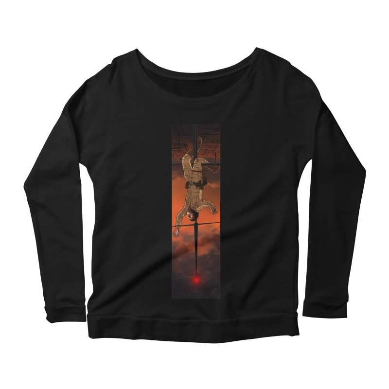 Hang in There-Luke Women's Scoop Neck Longsleeve T-Shirt by City of Pyramids's Artist Shop