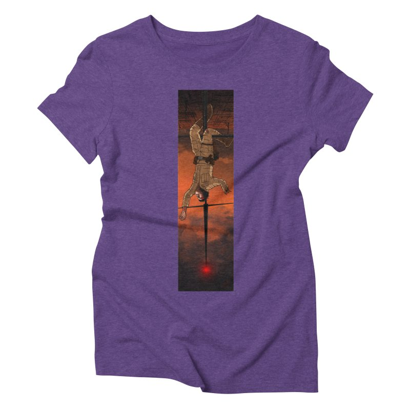 Hang in There-Luke Women's Triblend T-Shirt by City of Pyramids's Artist Shop