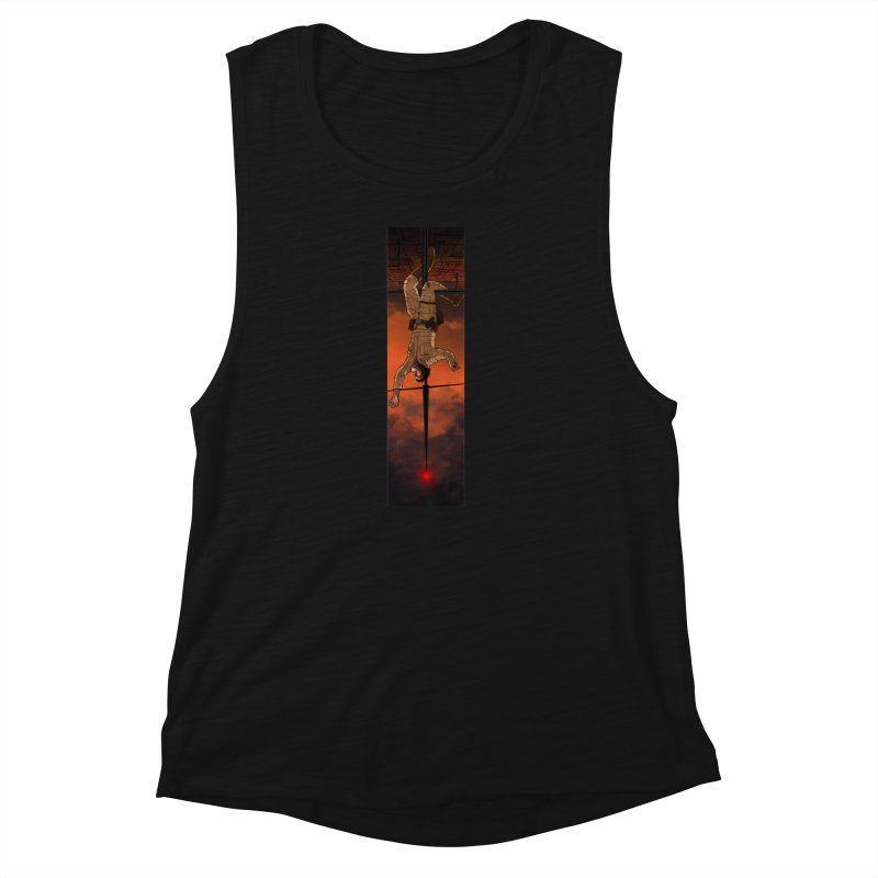 Hang in There-Luke Women's Muscle Tank by City of Pyramids's Artist Shop