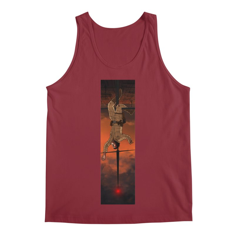 Hang in There-Luke Men's Regular Tank by City of Pyramids's Artist Shop