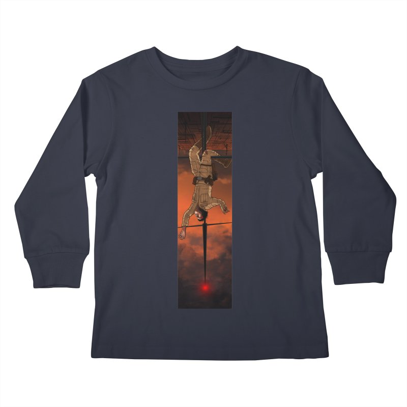 Hang in There-Luke Kids Longsleeve T-Shirt by City of Pyramids's Artist Shop