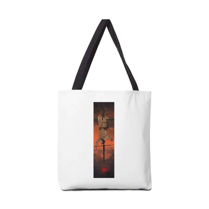 Hang in There-Luke Accessories Tote Bag Bag by City of Pyramids's Artist Shop