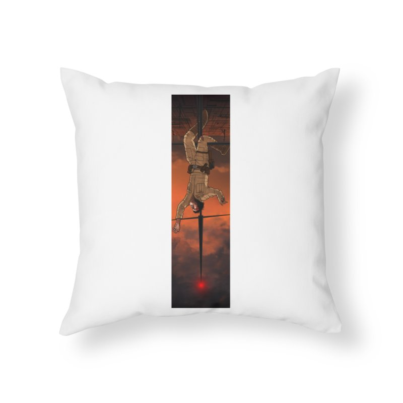 Hang in There-Luke Home Throw Pillow by City of Pyramids's Artist Shop