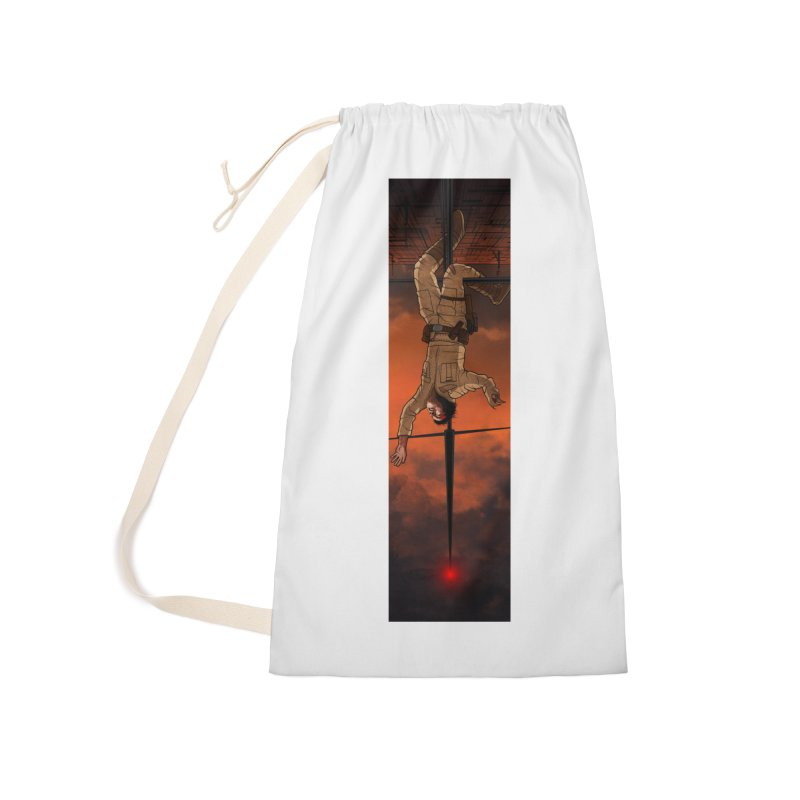 Hang in There-Luke Accessories Bag by City of Pyramids's Artist Shop