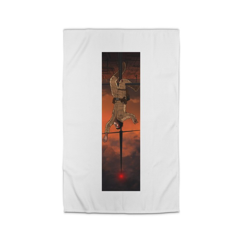 Hang in There-Luke Home Rug by City of Pyramids's Artist Shop