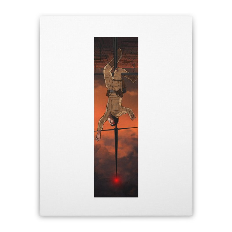 Hang in There-Luke Home Stretched Canvas by City of Pyramids's Artist Shop