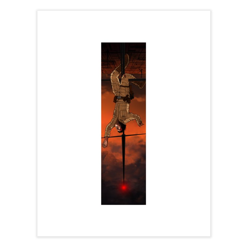 Hang in There-Luke Home Fine Art Print by City of Pyramids's Artist Shop