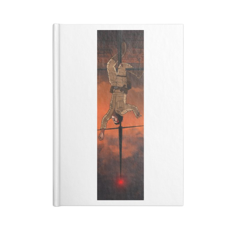 Hang in There-Luke Accessories Lined Journal Notebook by City of Pyramids's Artist Shop
