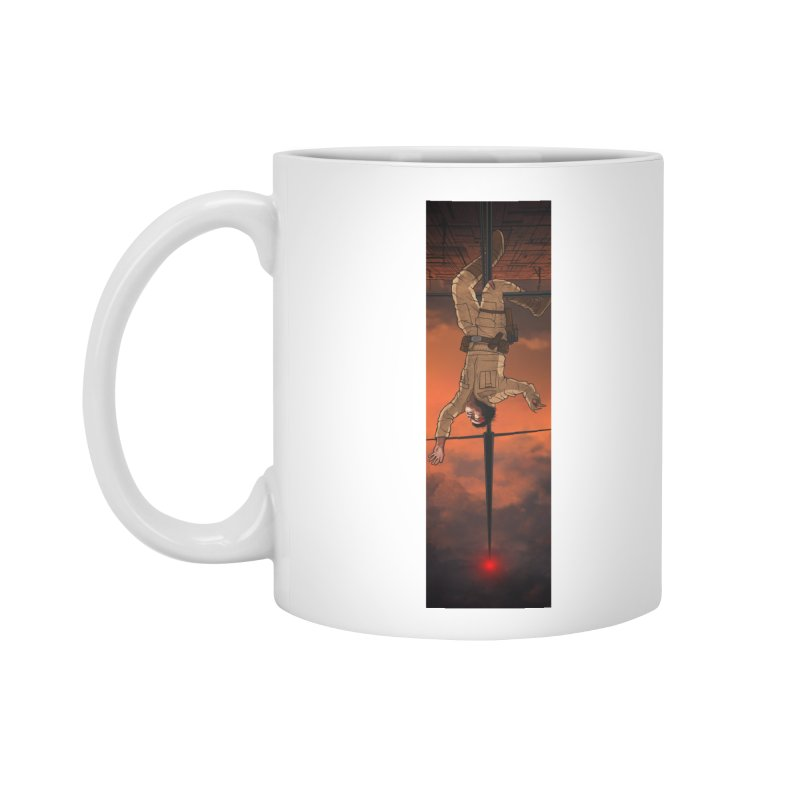 Hang in There-Luke Accessories Standard Mug by City of Pyramids's Artist Shop