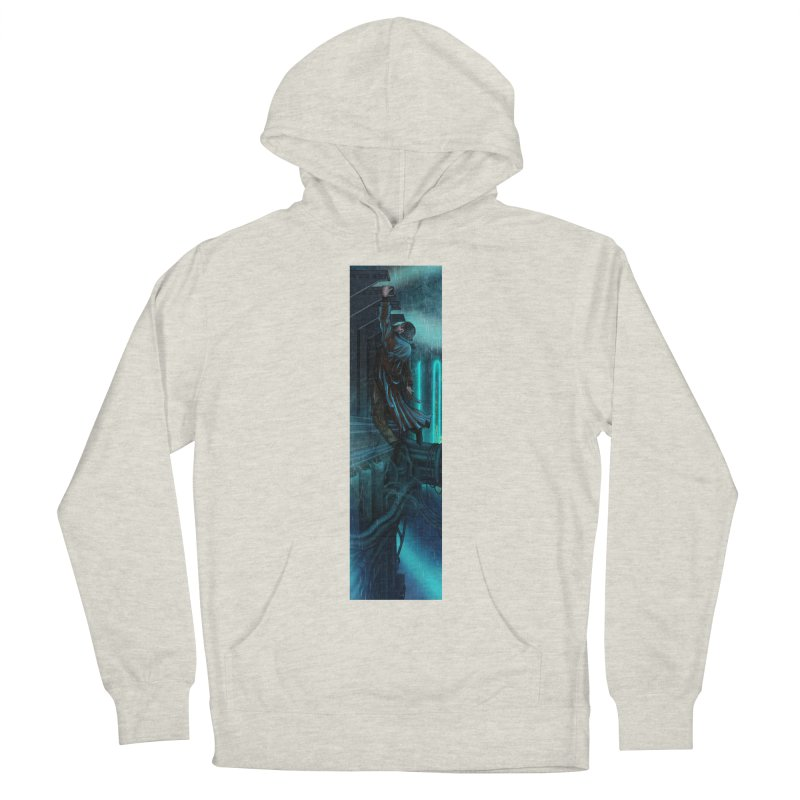 Hang in There-Deckard Women's French Terry Pullover Hoody by City of Pyramids's Artist Shop