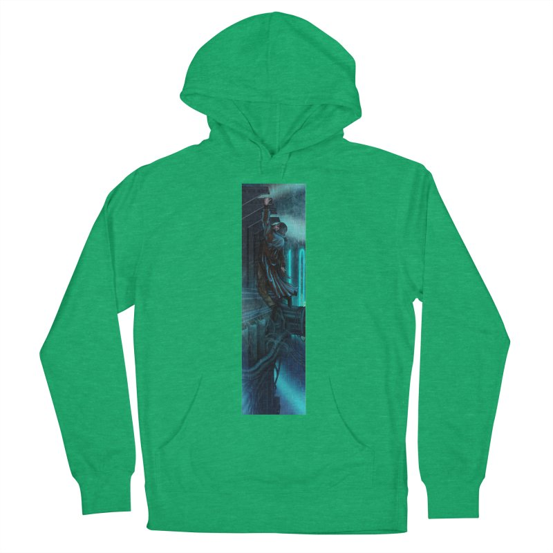 Hang in There-Deckard Men's French Terry Pullover Hoody by City of Pyramids's Artist Shop