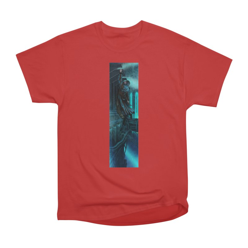 Hang in There-Deckard Men's Heavyweight T-Shirt by City of Pyramids's Artist Shop
