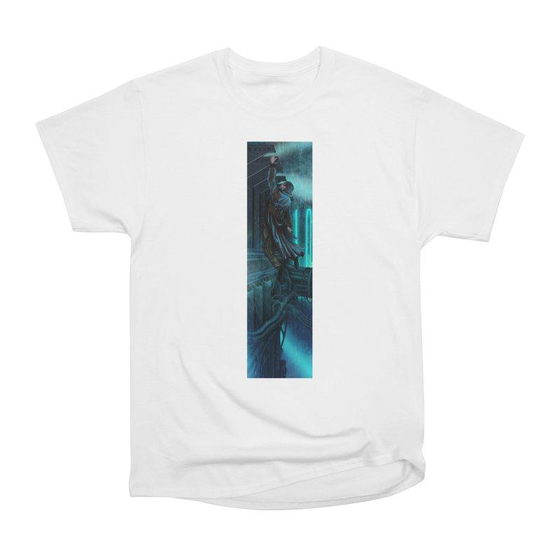 Hang in There-Deckard Women's Heavyweight Unisex T-Shirt by City of Pyramids's Artist Shop