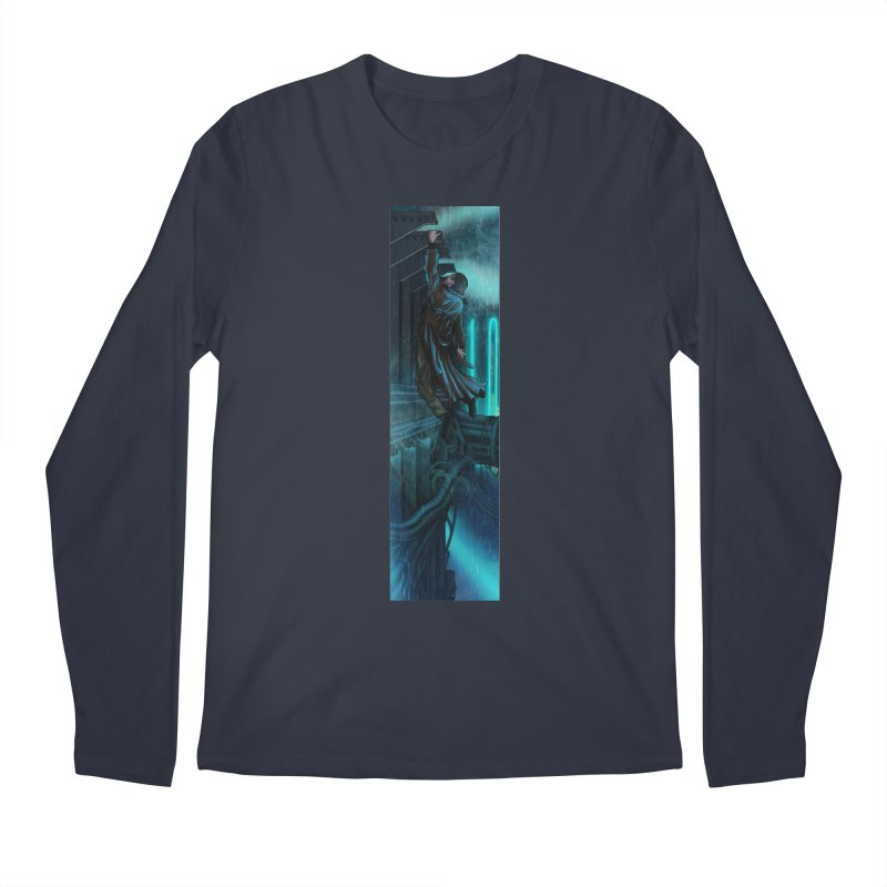 Hang in There-Deckard Men's Regular Longsleeve T-Shirt by City of Pyramids's Artist Shop