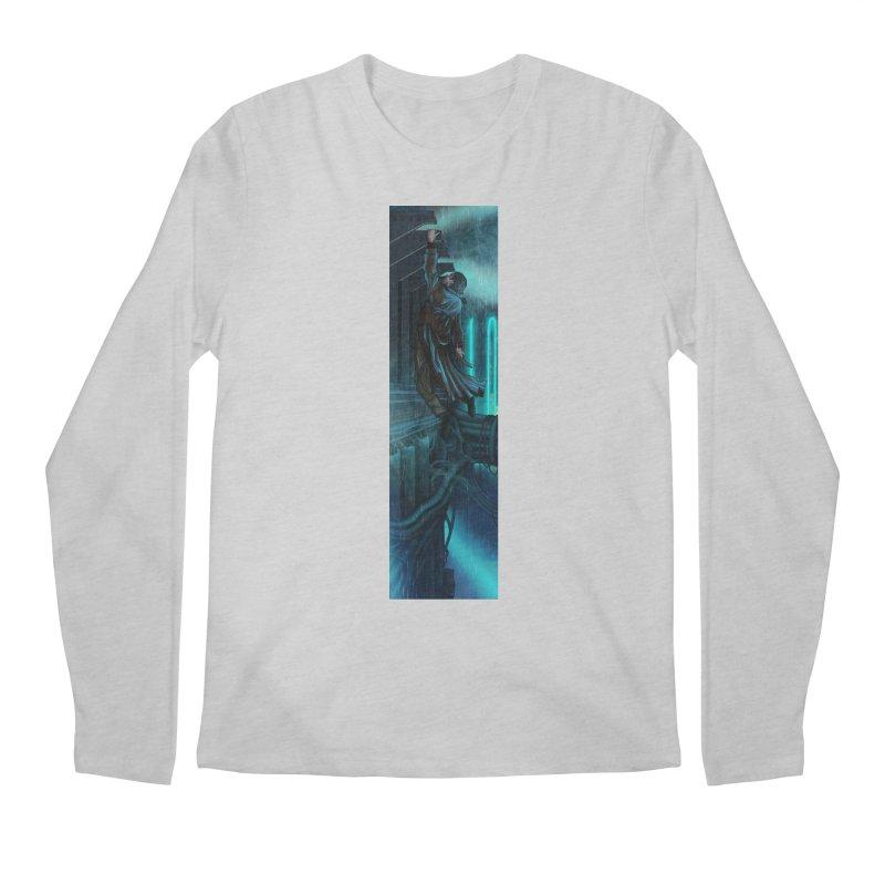 Hang in There-Deckard Men's Regular Longsleeve T-Shirt by City of Pyramids's Artist Shop