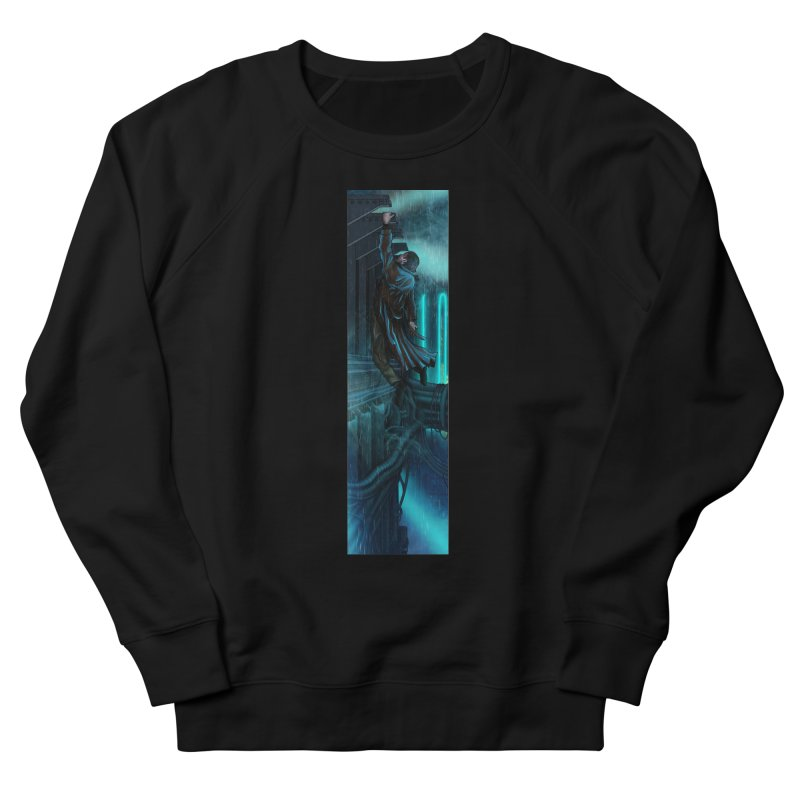 Hang in There-Deckard Men's French Terry Sweatshirt by City of Pyramids's Artist Shop