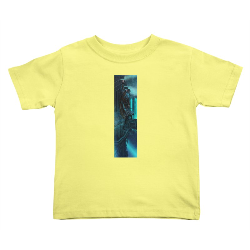 Hang in There-Deckard Kids Toddler T-Shirt by City of Pyramids's Artist Shop