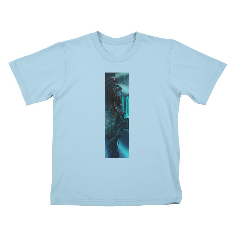 Hang in There-Deckard Kids T-Shirt by City of Pyramids's Artist Shop