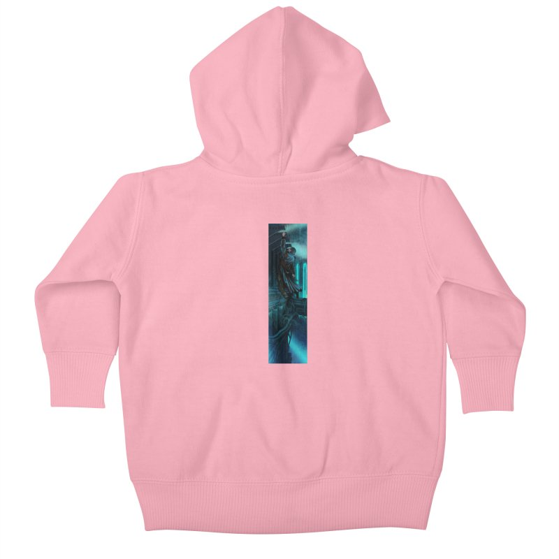 Hang in There-Deckard Kids Baby Zip-Up Hoody by City of Pyramids's Artist Shop