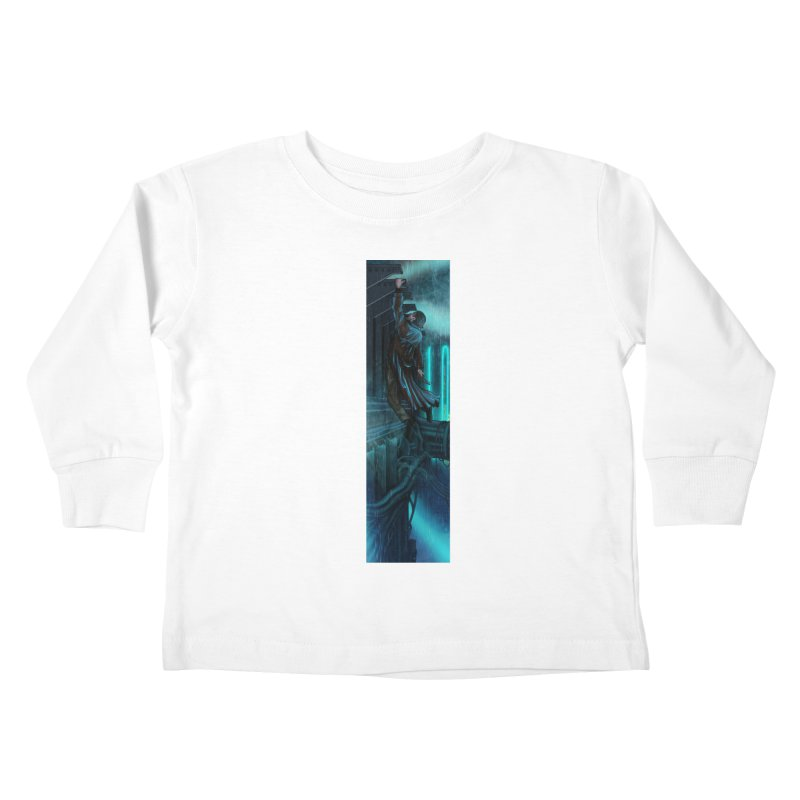 Hang in There-Deckard Kids Toddler Longsleeve T-Shirt by City of Pyramids's Artist Shop