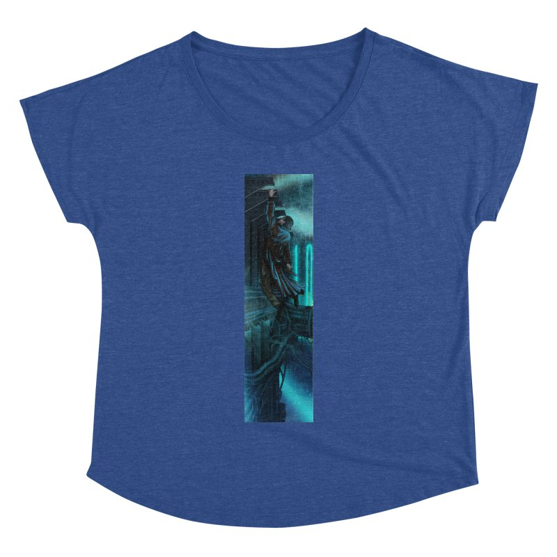 Hang in There-Deckard Women's Dolman Scoop Neck by City of Pyramids's Artist Shop