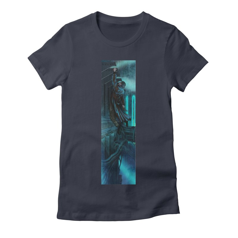 Hang in There-Deckard Women's Fitted T-Shirt by City of Pyramids's Artist Shop