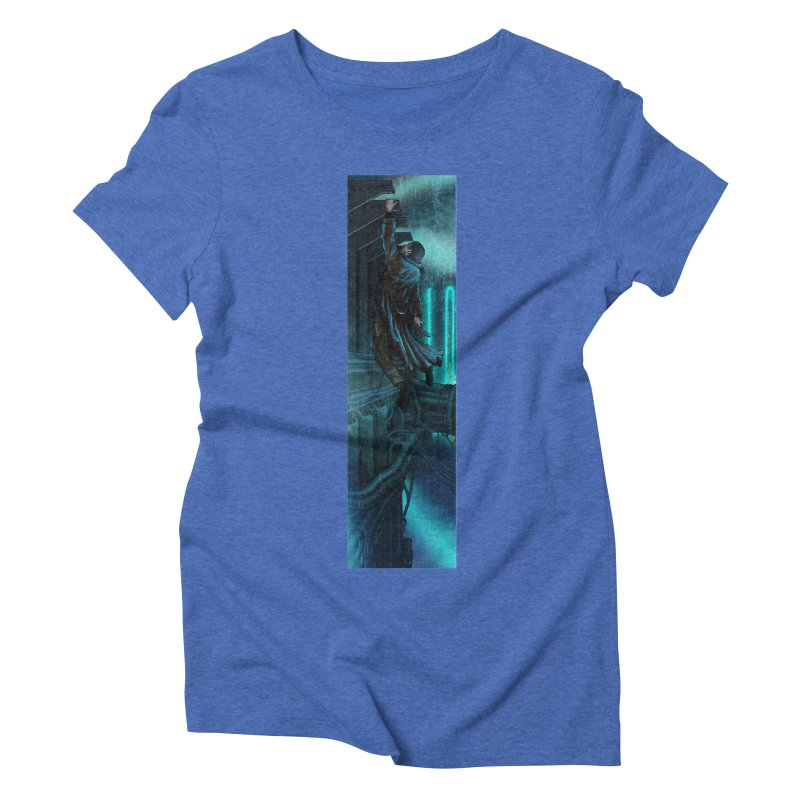 Hang in There-Deckard Women's Triblend T-Shirt by City of Pyramids's Artist Shop
