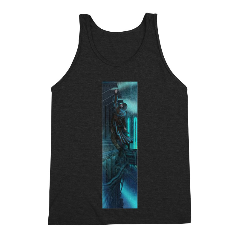 Hang in There-Deckard Men's Triblend Tank by City of Pyramids's Artist Shop