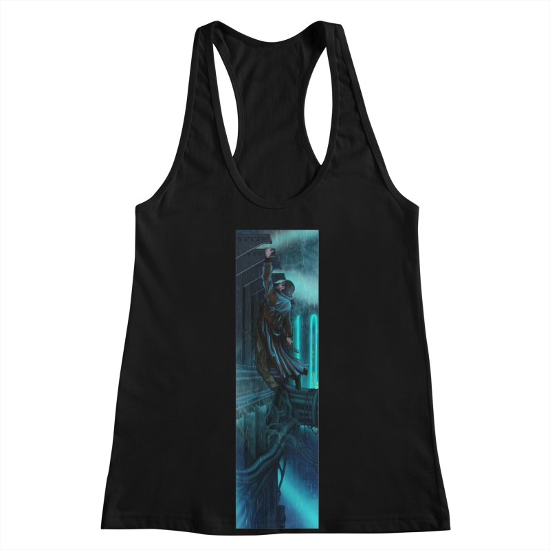 Hang in There-Deckard Women's Racerback Tank by City of Pyramids's Artist Shop