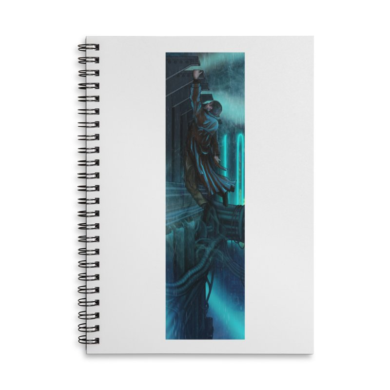 Hang in There-Deckard Accessories Lined Spiral Notebook by City of Pyramids's Artist Shop
