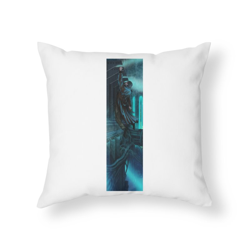 Hang in There-Deckard Home Throw Pillow by City of Pyramids's Artist Shop