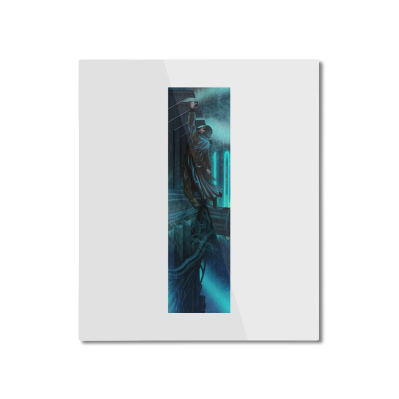 Hang in There-Deckard Home Mounted Aluminum Print by City of Pyramids's Artist Shop