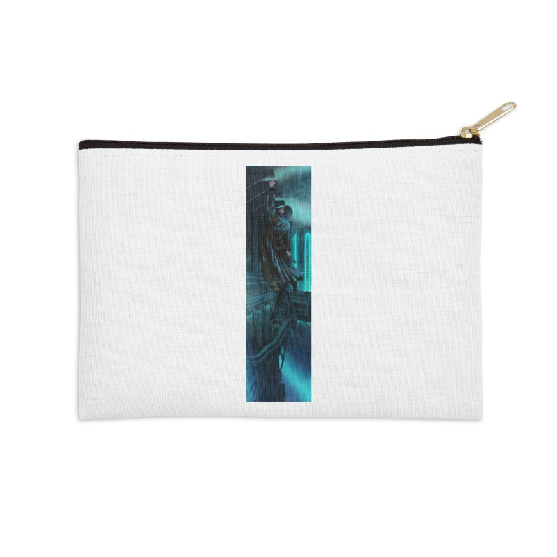 Hang in There-Deckard Accessories Zip Pouch by City of Pyramids's Artist Shop