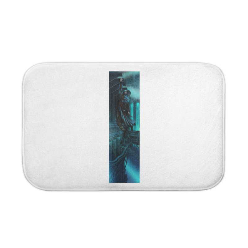 Hang in There-Deckard Home Bath Mat by City of Pyramids's Artist Shop